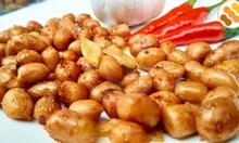Đồ ăn vặt online - đặc sản Long An - đậu phộng miền Tây