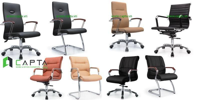 Mẫu ghế làm việc hiện đại dành cho nhân viên văn phòng