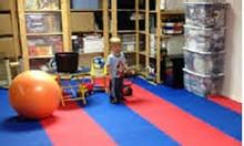 Thảm xốp 1m x 1m dày 3cm chuyên phòng tập xốp thi đấu
