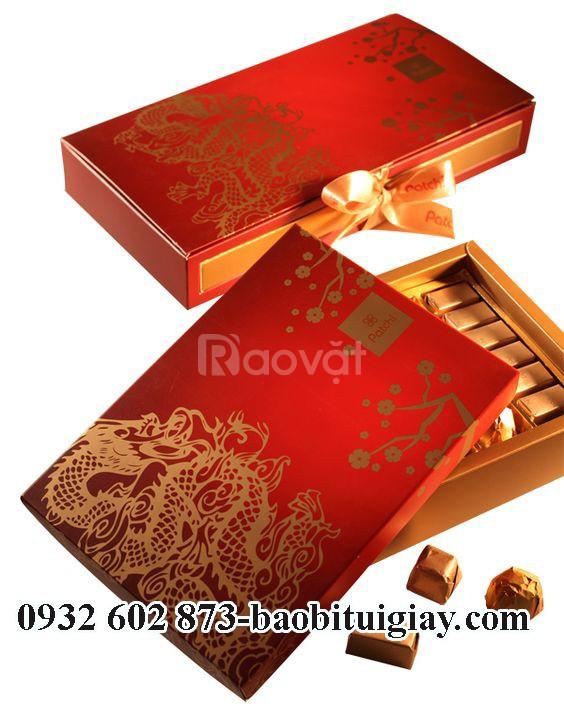 In hộp giấy đựng quà 2019,in hộp quà tết 2019,in hộp giấy đựng quà