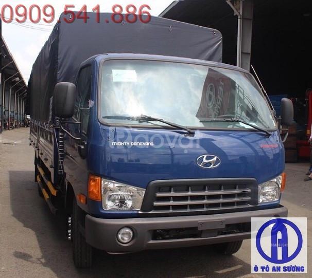 Xe tải Hyundai hd700 6t8 vay trả góp 90% (ảnh 1)