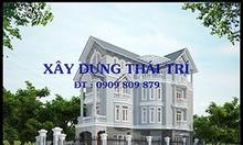 Nhận thiết kế nhà phố, biệt thự, giá rẻ, quận Tân Bình, Tân Phú