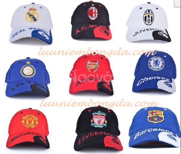 Chuyên kinh doanh nón logo đội bóng, móc khóa bóng đá, khăn choàng cổ