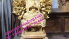 Tượng thờ gỗ, tượng phật gỗ mít lõi sơn son thếp bạc thếp vàng (ảnh 5)