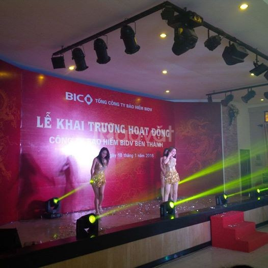 Cho thuê âm thanh sân khấu ánh sáng các sự kiện TPHCM