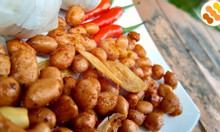 Đậu phộng rang tỏi ớt Hóc Môn - đậu phộng