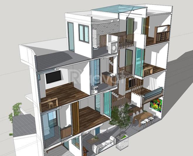 Cách tính diện tích xây nhà ở Đà Nẵng - trathico