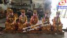 Tượng thờ gỗ, tượng phật gỗ mít lõi sơn son thếp bạc thếp vàng (ảnh 8)