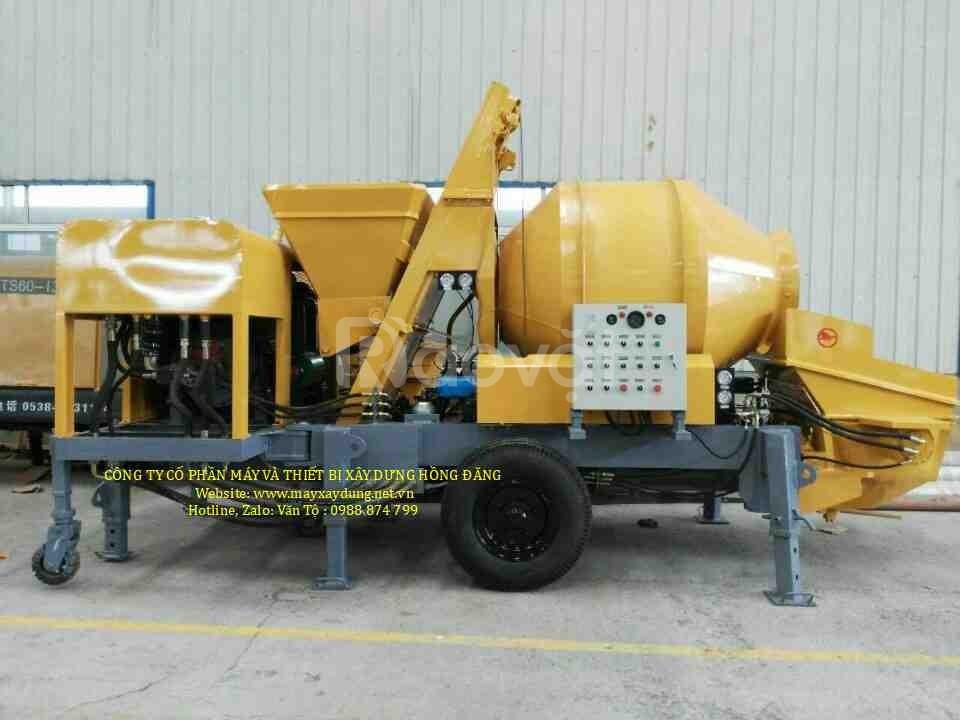 Máy bơm bê tông 8 – 15m3/h với model JRD PS800