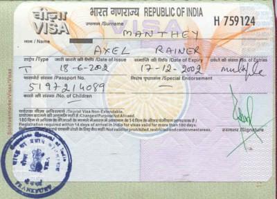 Visa đi Ấn Độ tại TPHCM (Sài Gòn)