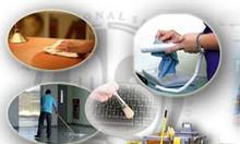 Cung cấp vệ sinh công nghiệp, tổng vệ sinh sau xây dựng