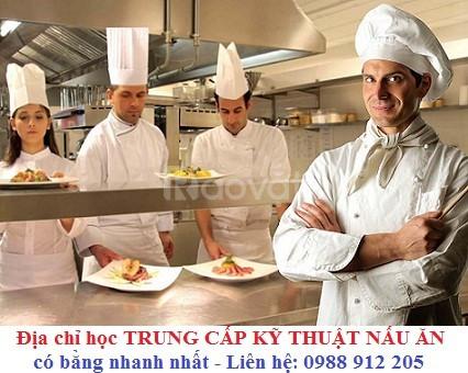 Trường dạy Trung cấp Nấu ăn ở Hà Nội xét tuyển hồ sơ năm 2018