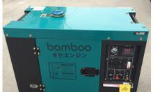 Máy phát điện Bamboo BmB 7800ET new (6kw, dầu, chống ồn)