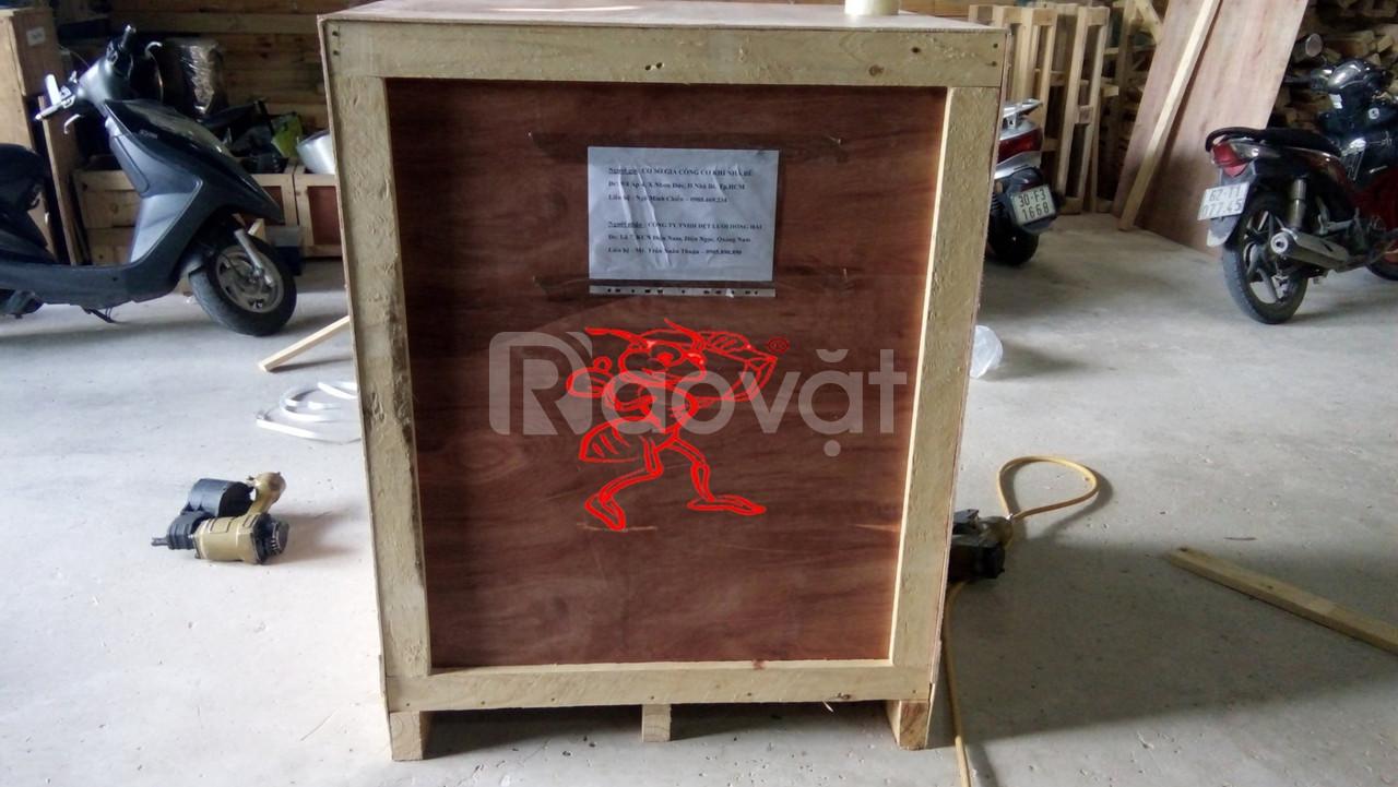 Đóng thùng gỗ giá rẻ, thùng gỗ xuât khẩu