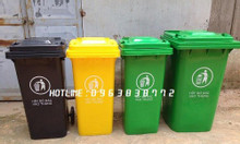 Thùng rác nhựa 240L đựng rác ngoài trời