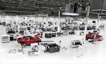 Công nhân sản xuất nhà máy Honda