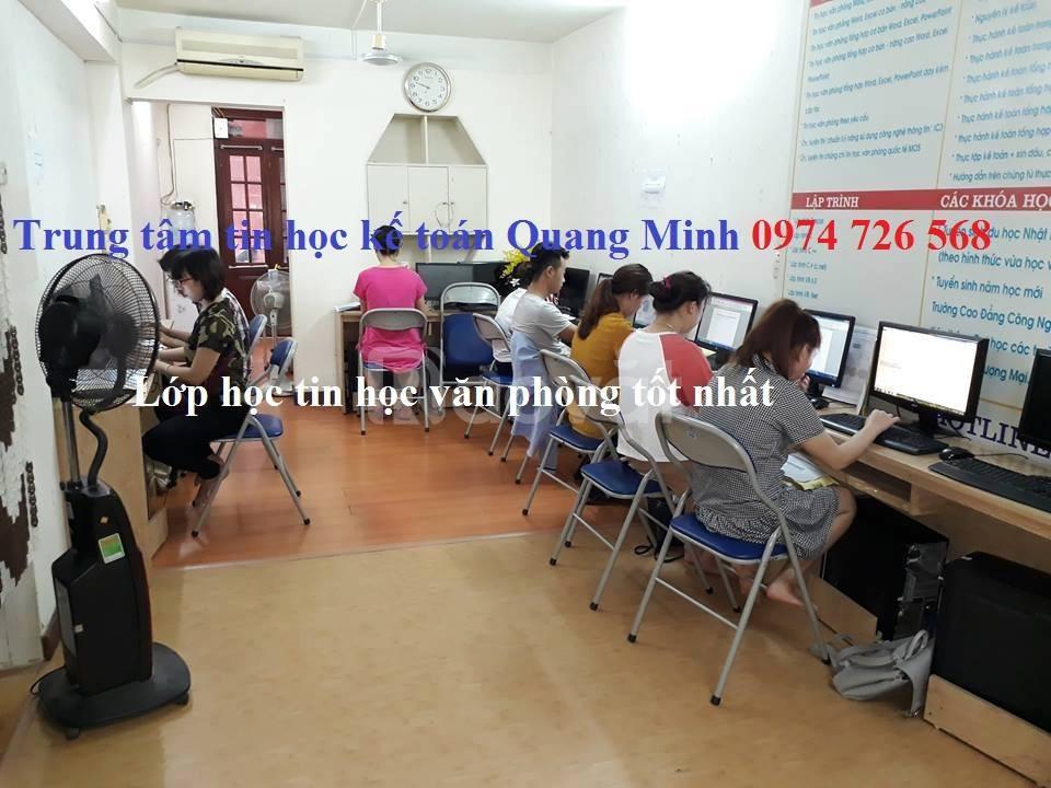 Tìm lớp tin học văn phòng uy tín ở Hà Nội