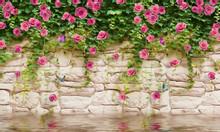 Gạch tranh 3D ốp tường trang trí