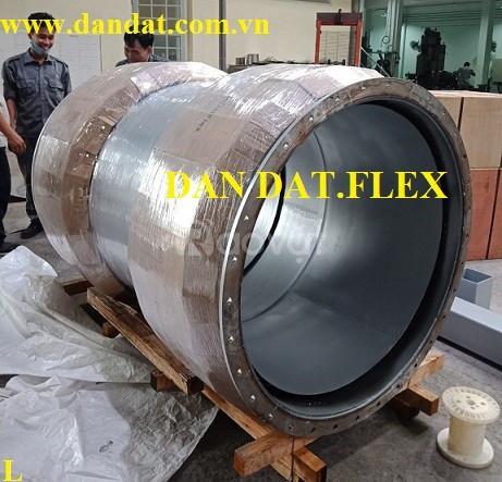 Khớp chống rung mặt bích tiêu chuẩn Jis 10K inox 304