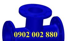 Phụ kiện gang cầu, tê (TEE) gang cầu BBB DN100, DN150, DN200