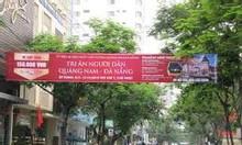 Treo banner quảng cáo giá rẻ Long An