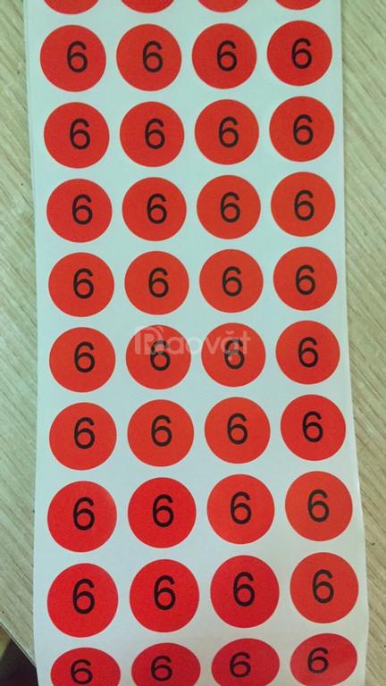 Dịch vụ in ấn gia công decal tem nhãn mã vạch các loại theo yêu cầu