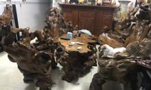 Bộ bàn ghế gỗ tự nhiên nguyên khối