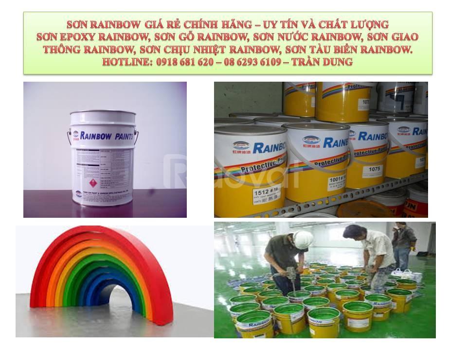 Phân phối sơn chịu nhiệt Rainbow 600 độ C màu xám giá rẻ chính hãng (ảnh 4)