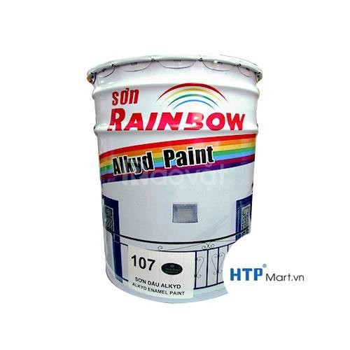 Phân phối sơn chịu nhiệt Rainbow 600 độ C màu xám giá rẻ chính hãng (ảnh 1)