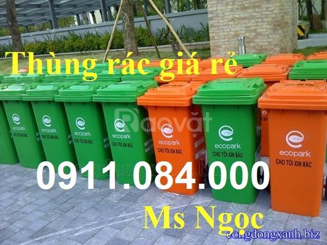 Gia Lai nơi mua thùng rác môi trường 120 lít giá rẻ