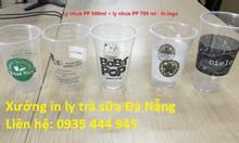 In ly nhựa, ly trà sữa tại Đà Nẵng, in ly trà sữa giá rẻ Đà Nẵng