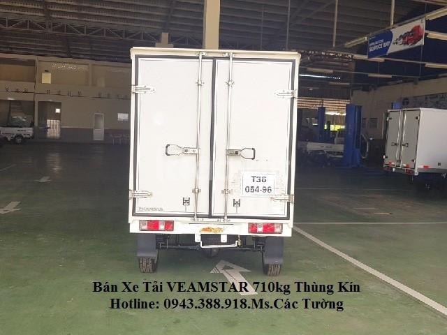 Bán xe tải Veam Star thùng kín - Hỗ trợ trả góp đến 80% (ảnh 3)
