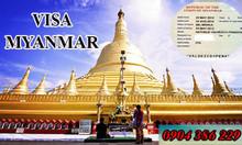 Làm visa Myanmar tại quận 1, quận 2, quận 7, TPHCM