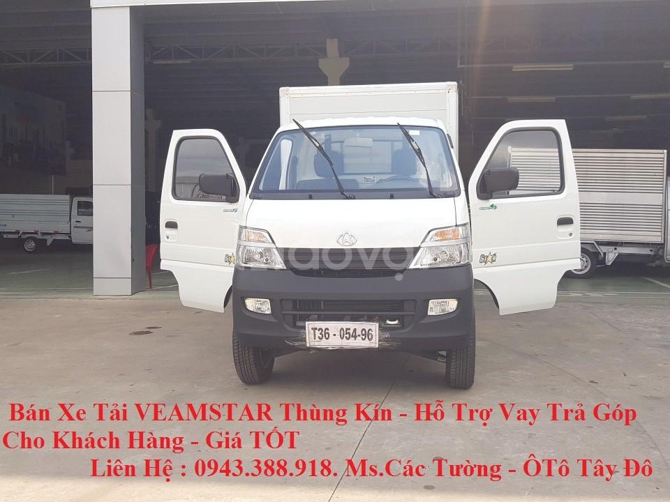 Bán xe tải Veam Star thùng kín - Hỗ trợ trả góp đến 80% (ảnh 4)