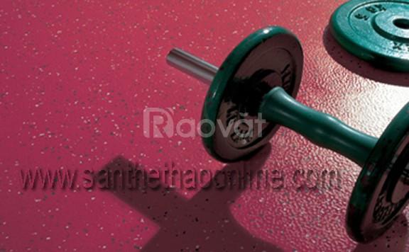 Gạch cao su phòng gym giá rẻ tháng 8