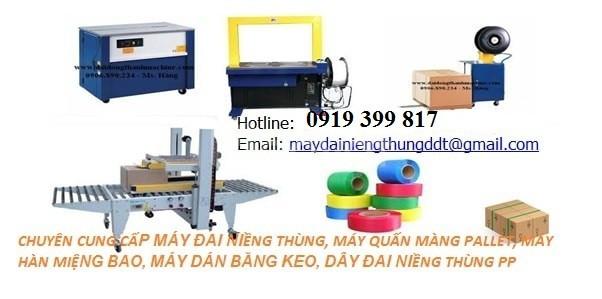 Máy đóng đai thùng giá tốt tại Lâm Đồng (ảnh 8)