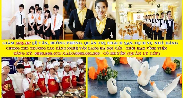 Khóa học nghiệp vụ lễ tân khách sạn 1 tháng tại Đà Nẵng - Quảng Nam