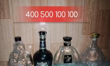 Vỏ chai rượu ngoại độc lạ