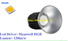 Đèn led nhà xưởng UFO 150W sử dụng Chip led Philips SMD chất lượng cao