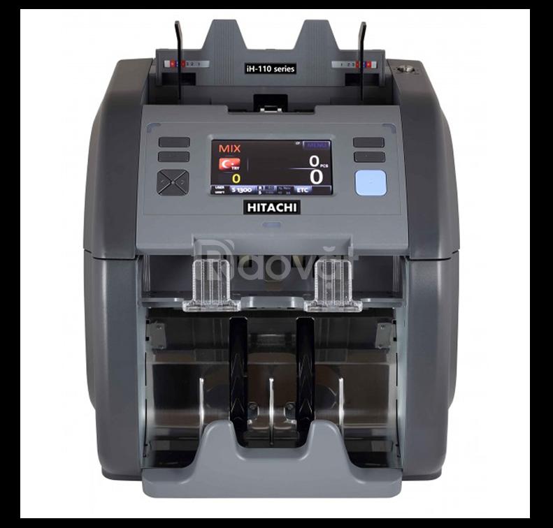 Máy đếm tiền và phát hiện tiền giả Nhật Bản Hitachi IH-110