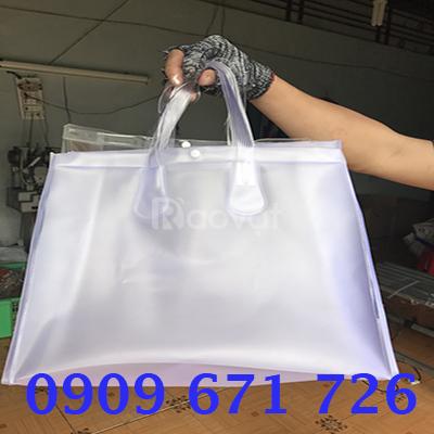 Cơ sở may túi nhựa đựng quà giá rẻ, xưởng may túi nhựa dẻo tốt
