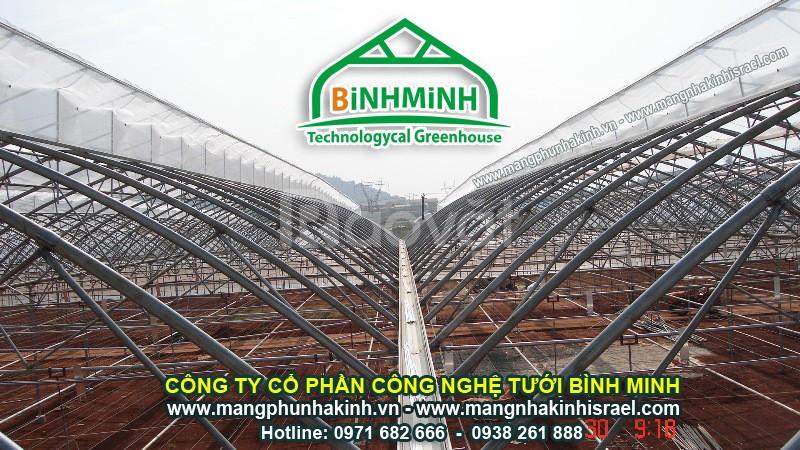 Chi phí xây dựng nhà màng giới thiệu chi phí xây dựng nhà kính