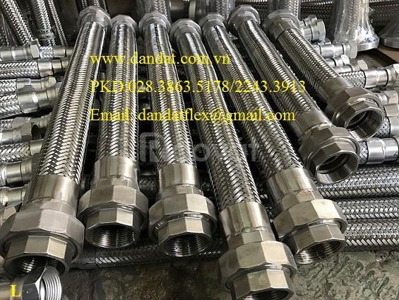 Xin giá ống mềm nối bích, khớp nối mềm giảm chấn (bích sắt 20K) (ảnh 5)