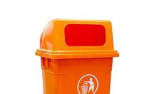 Thùng rác nhựa 95L, bán thùng rác nhựa giá rẻ