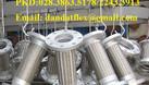 Xin giá ống mềm nối bích, khớp nối mềm giảm chấn (bích sắt 20K) (ảnh 4)