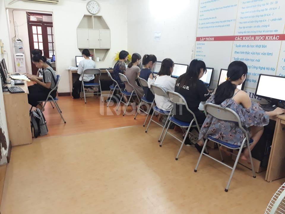 Lớp tin học văn phòng tốt tại Hà Nội