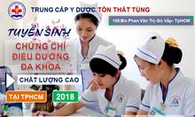 Thông báo tuyển sinh chứng chỉ điều dưỡng viên 2018