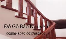 Bán tay vịn lan can cầu thang gỗ sồi Nga tại Thanh Xuân Hà Nội