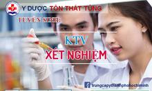 Học chứng chỉ KTV xét nghiệm ngắn hạn 6 tháng ở đâu HCM