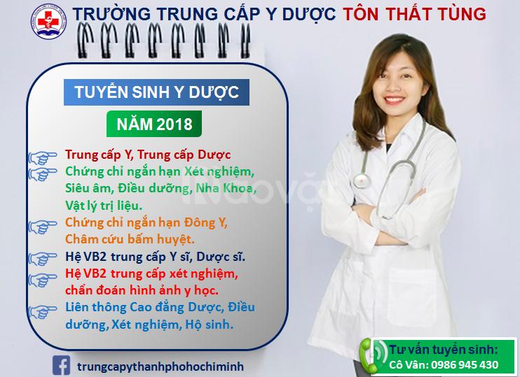 Phương thức tuyển sinh y dược năm 2018